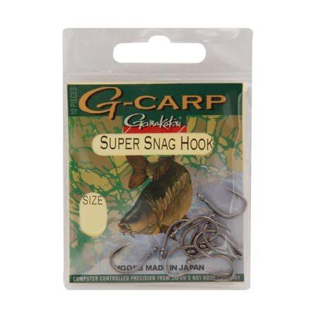 Hameçon carpe gamakatsu g-carp super snag