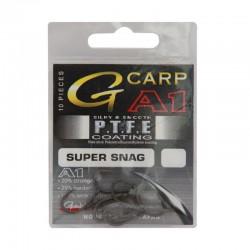 Hamecon Carpe Gamakatsu A1 Ptfe Super Snag